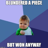 A Bit on Blunders and Comebacks