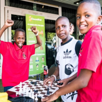 ChessKid Visits South African Junior Chess Championship!