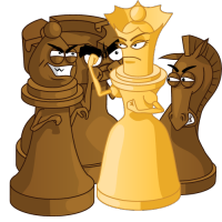 Keeping the Tempo: One Queen vs. Three Pieces! - 1